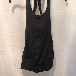 Aspire Black Work Out Tank Top Size XS